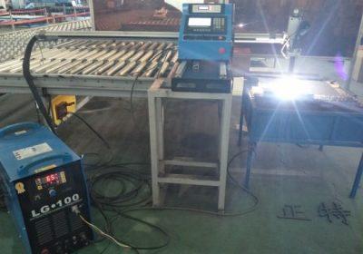 خود کار طریقے سے Gantry قسم CNC پلازما کاٹنے کی مشین / شیٹ میٹل پلازما کٹر