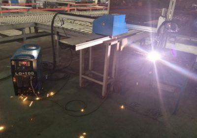 مینی گنٹری CNC پلازما کا کاٹنے والی مشین / CNC گیس پلازما کٹر