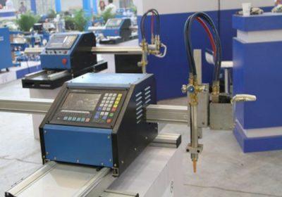دھات کی شیٹ اور دھات پائپ CNC کاٹنے کی مشین دونوں پلازما کاٹنے اور آکسی-ایندھن کاٹنے مشعل دونوں کے ساتھ