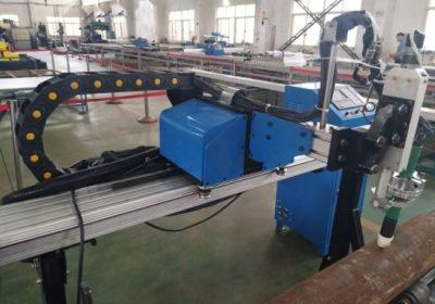 سٹیل دھات لوہے سٹینلیس سٹیل کے لئے CNC پلازما مشین کاٹنے پائپ