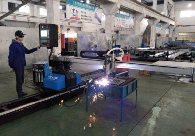 چین سے فیکٹری کی قیمت کے ساتھ CNC پورٹیبل پلازما شعلہ پائپ کاٹنے والی مشین
