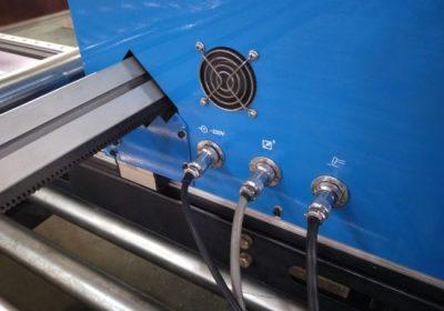 Gantry کی قسم CNC پلازما کاٹنے کی مشین، سٹیل پلیٹ کاٹنے کی مشین پلازما کٹر