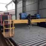 دھاتی کے لئے یورپی معیار کے CNC پلازما اور شعلہ کاٹنے والی مشین / پلازما CNC کٹر مشین