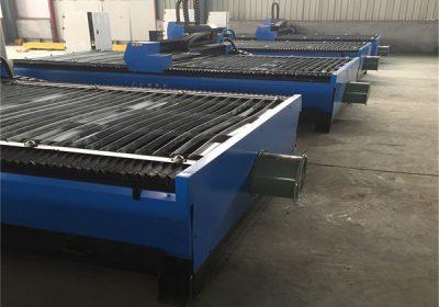 لوہے کی پلیٹ، کاربن سٹیل، ایلومینیم کٹ 1325 43،63،100،200 اے چین میں فروخت کے لئے THC CNC پلازما کاٹنے کی مشین